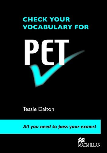 9780230033597: Check Your Vocabulary for Pet: All You Need to Pass Your Exams!