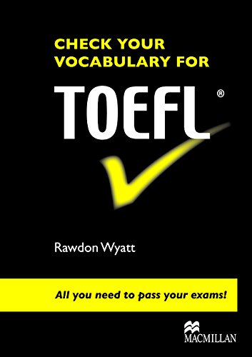 9780230033610: CHECK YOUR VOCABULARY for TOEFL