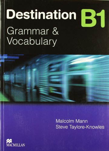9780230035379: Destination B1 - Grammer and Vocabulary