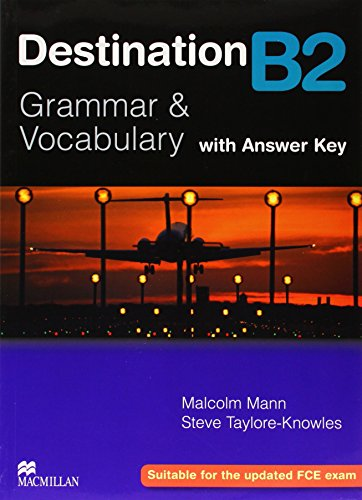 9780230035386: Destination B2. Grammar and vocabulary. Student's book. Without key. Per le Scuole superiori