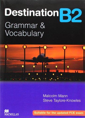 9780230035393: Destination Grammar B2