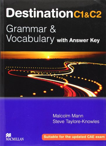 9780230035409: Destination C1 and C2 - Grammer and Vocabulary with Answer Key