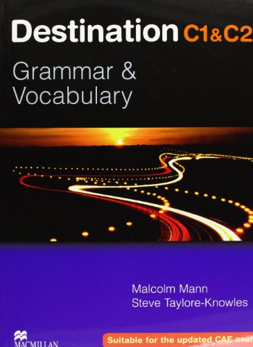 9780230035416: Destination C1 & C2. Grammar and vocabulary. Student's book. Without key. Per le Scuole superiori