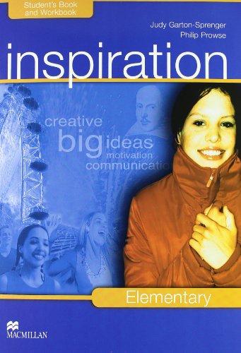 9780230039049: Inspiration. Elementary. Student's book-Workbook-Extra book. Per le Scuole superiori. Con CD Audio. Con CD-ROM