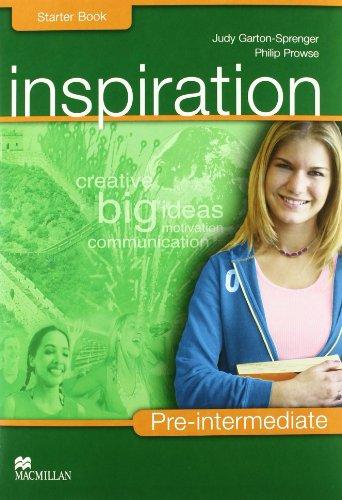 9780230039148: Inspiration. Pre-intermediate. Student's book-Workbook-Extra book. Per le Scuole superiori. Con CD Audio. Con CD-ROM
