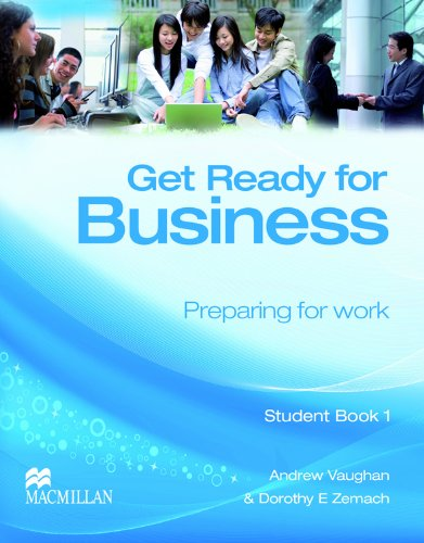 9780230039797: Get Ready for Business Student Book 1