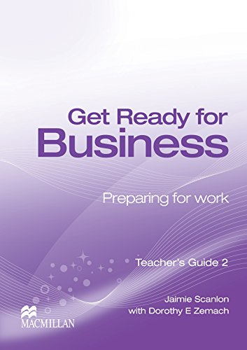 9780230039872: Get Ready for Business 2 Teacher's Book B1+ Intermediate