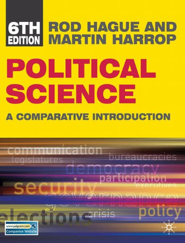 9780230101142: Political Science (North American edition): A Comparative Introduction (Comparative Government and Politics)