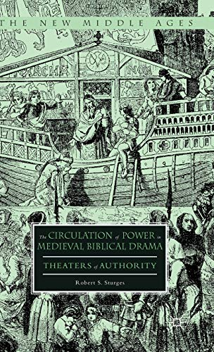 9780230115781: The Circulation of Power in Medieval Biblical Drama: Theaters of Authority (The New Middle Ages)