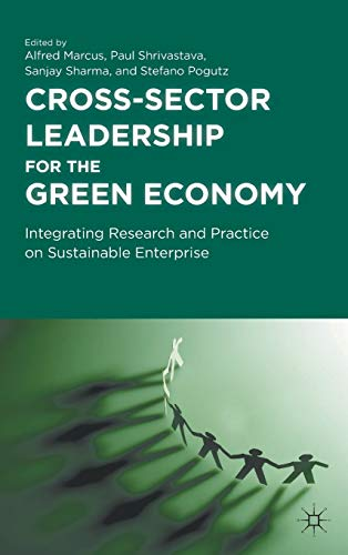 9780230119406: Cross-Sector Leadership for the Green Economy: Integrating Research and Practice on Sustainable Enterprise