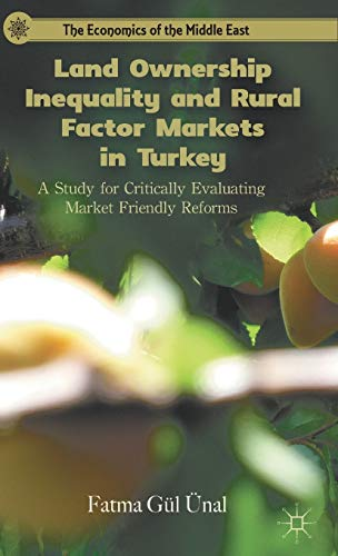 9780230120211: Land Ownership Inequality and Rural Factor Markets in Turkey: A Study for Critically Evaluating Market Friendly Reforms (The Economics of the Middle East)