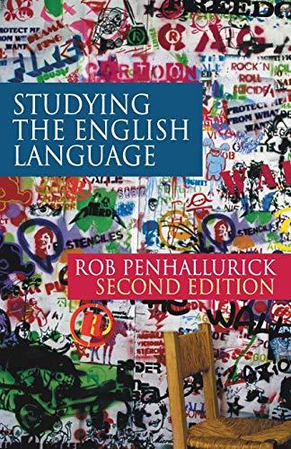 9780230200159: Studying the English Language