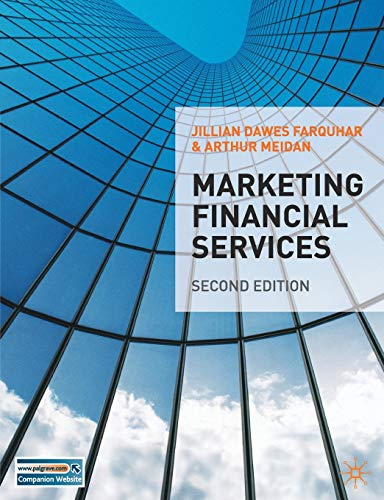 9780230201187: Marketing Financial Services