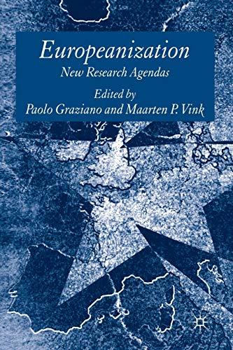 9780230204317: Europeanization: New Research Agendas