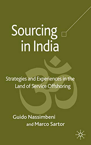 Sourcing in India: Strategies and Experiences in: Nassimbeni, Guido, Sartor,
