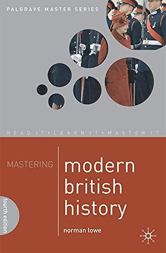 9780230205567: Mastering Modern British History (Palgrave Master Series)