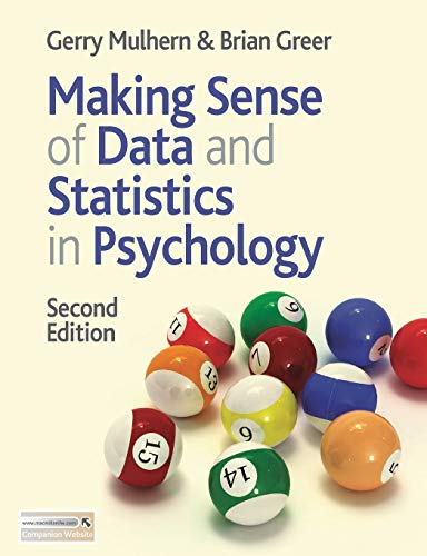 9780230205741: Making Sense of Data and Statistics in Psychology
