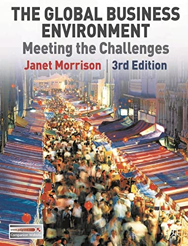 9780230210257: The Global Business Environment: Meeting the Challenges