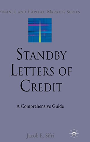 9780230212183: Standby Letters of Credit: A Comprehensive Guide (Finance and Capital Markets Series)