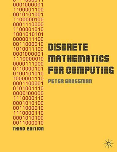 9780230216112: Discrete Mathematics for Computing: 0