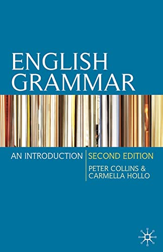 9780230216952: English Grammar: An Introduction