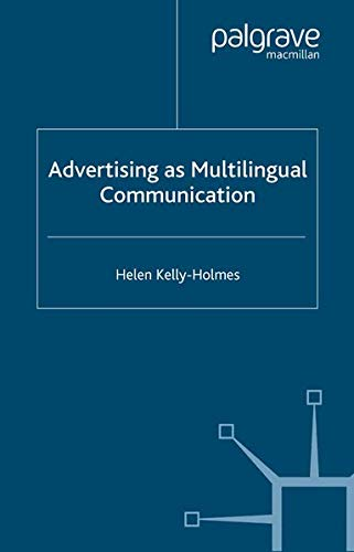 9780230217065: Advertising as Multilingual Communication