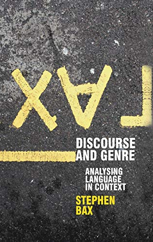 9780230217966: Discourse and Genre: Using Language in Context (Perspectives on the English Language)
