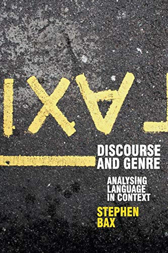 9780230217973: Discourse and Genre: Using Language in Context (Perspectives on the English Language)