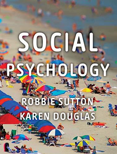 9780230218031: Social Psychology