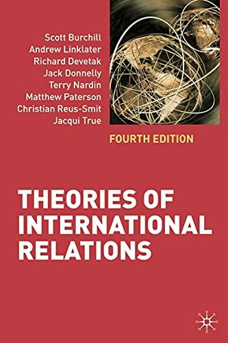 9780230219229: Theories of International Relations