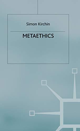 9780230219465: Metaethics (Palgrave Philosophy Today)