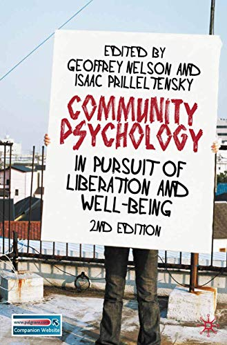 9780230219953: Community Psychology: In Pursuit of Liberation and Well-being