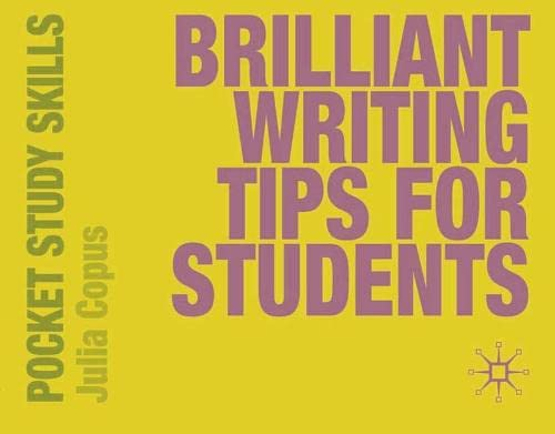 9780230220027: Brilliant Writing Tips for Students (Pocket Study Skills)
