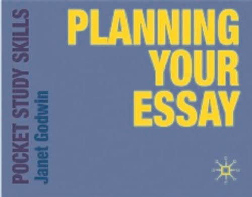 9780230220676: Planning your Essay (Pocket Study Skills)