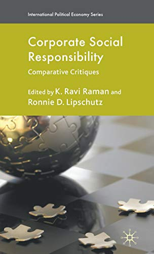 9780230220775: Corporate Social Responsibility: Comparative Critiques (International Political Economy Series)