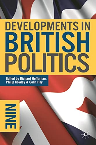 9780230221734: Developments in British Politics 9