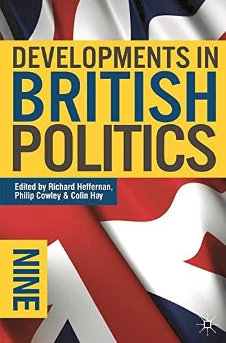 9780230221741: Developments in British Politics 9