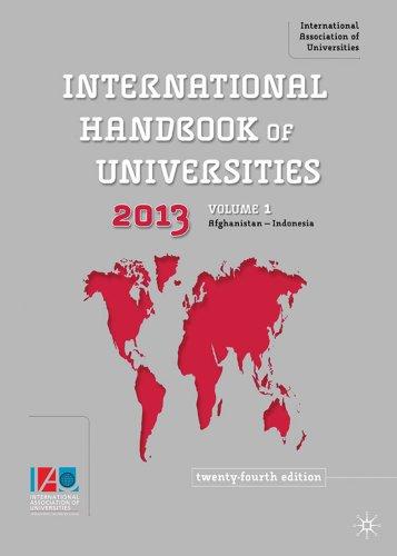9780230223486: International Handbook of Universities
