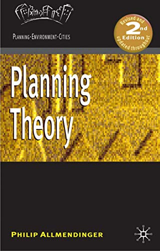 9780230223646: Planning Theory (Planning, Environment, Cities)