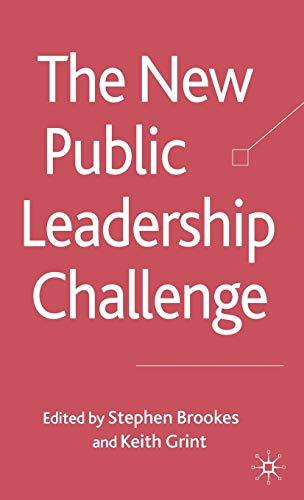 The New Public Leadership Challenge