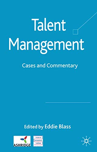9780230224193: Talent Management: Cases and Commentary