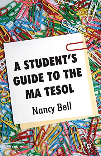 9780230224315: A Student's Guide to the MA TESOL