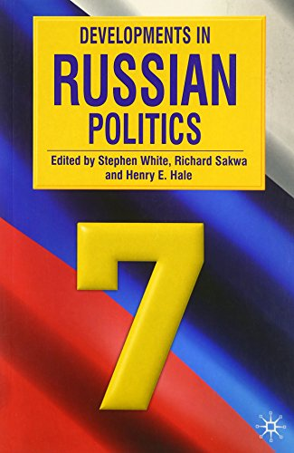 9780230224490: Developments in Russian Politics 7