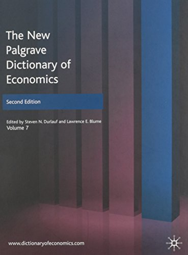 9780230226432: The New Palgrave Dictionary of Economics