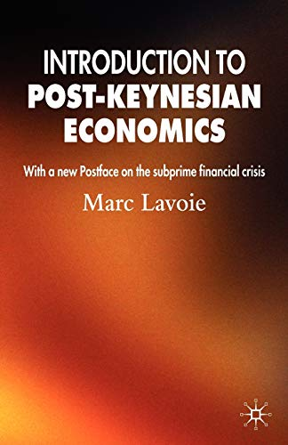 9780230229211: Introduction to Post-Keynesian Economics