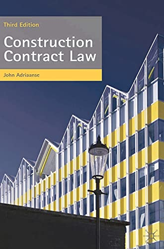 9780230230446: Construction Contract Law: The Essentials