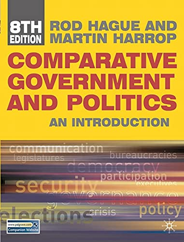 9780230231016: Comparative Government and Politics: An Introduction
