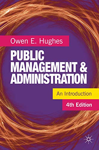 9780230231252: Public Management and Administration