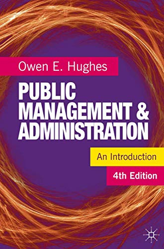 9780230231269: Public Management and Administration: An Introduction