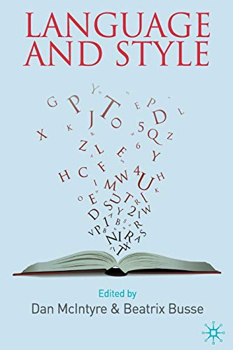 9780230231573: Language and Style